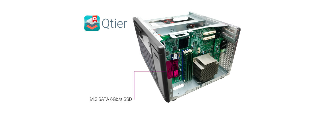 Mais desempenho e eficiência do sistema com cache SSD