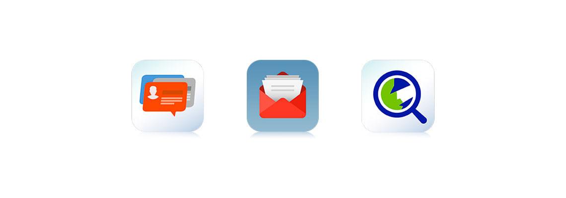 Várias contas de email do storage em apenas um local