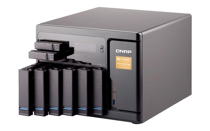 TVS-882T - Storage NAS 8 Baias até 72TB c/ slots SSD