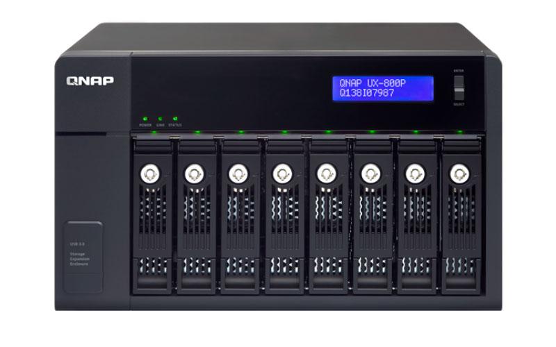 UX-800P Qnap - Expansão JBOD 8 baias até 48TB