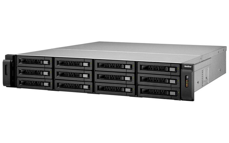 VioStor VS-12164U-RP PRO+ - NVR para 12 HDs e 64 câmeras